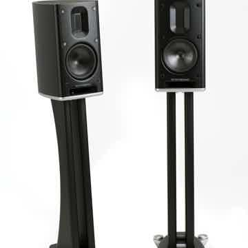 MB1 B stand-mount mini monitor with dual post stands