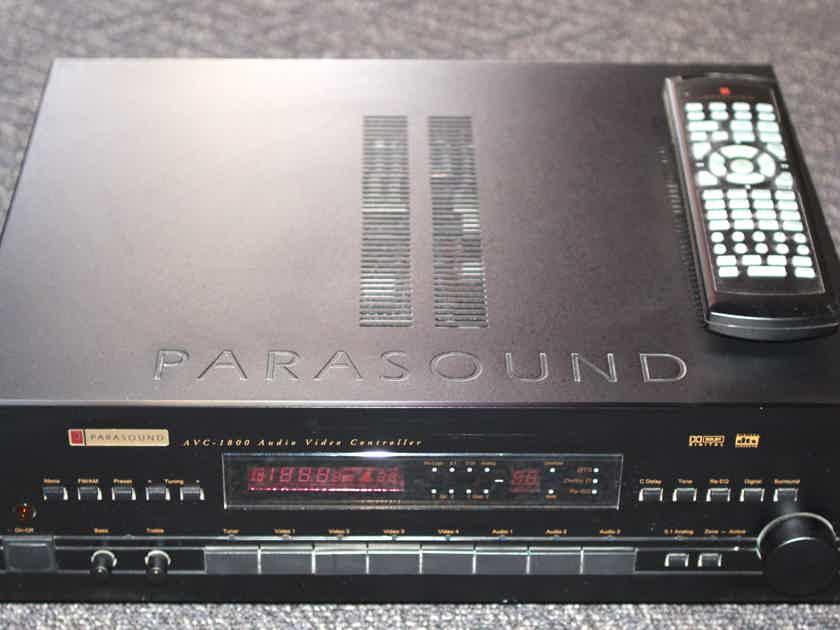 Parasound AVC-1800 AV Controller / Preamp