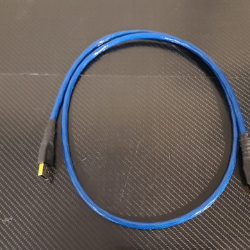 Blue Heaven USB Cable. A to A connectors. 1 Meter.