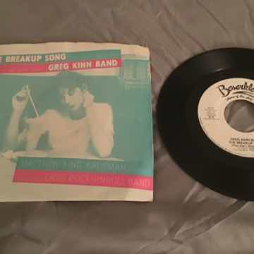 Greg Kihn Band Promo Mono/Stereo 45 With Picture Sleeve...