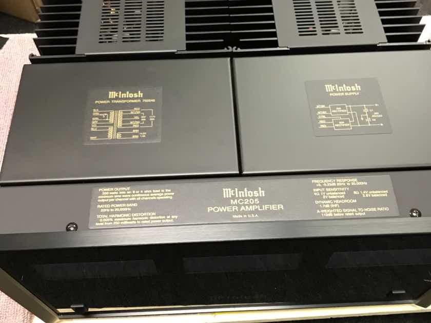 McIntosh MC-205 excellent condition