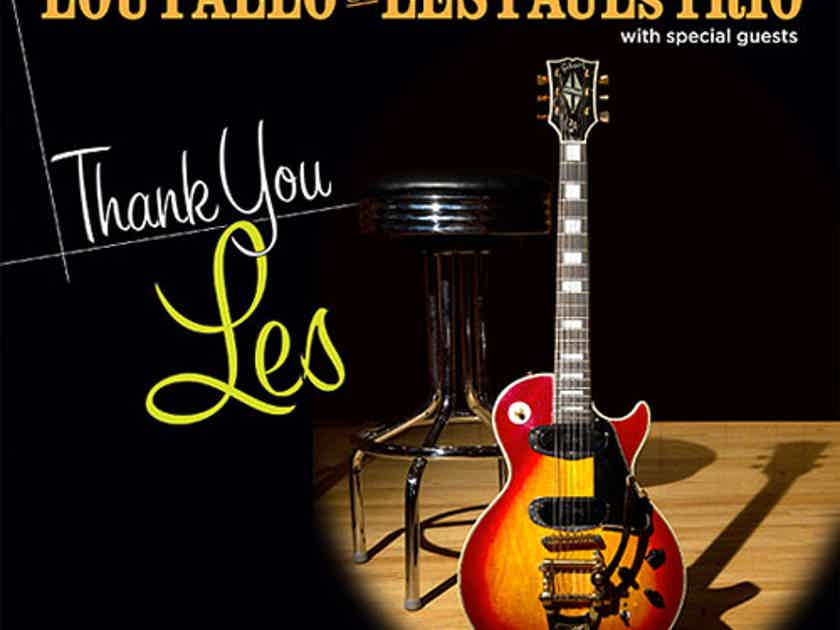 Lou Pallo of Les Paul's Trio Thank You Les Numbered Limited Edition 180g LP