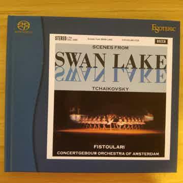 Very rare Esoteric SACDs-Swan Lake,Brahms violin ctor,...