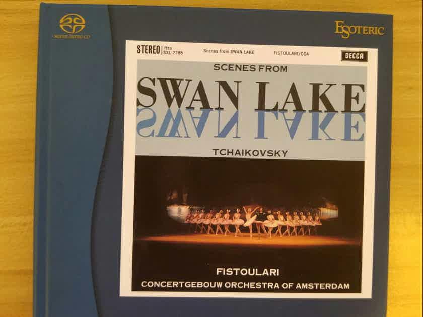 Very rare Esoteric SACDs-Swan Lake,Brahms violin ctor,Beethoven overtures.