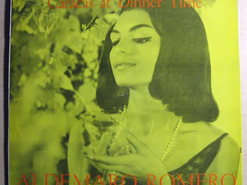Aldemaro Romero And His Salon Orchestra - Caracas At Dinner Time 1959 EX+ Vinyl LP Venezuela Cymbal Records LPA-1400-1