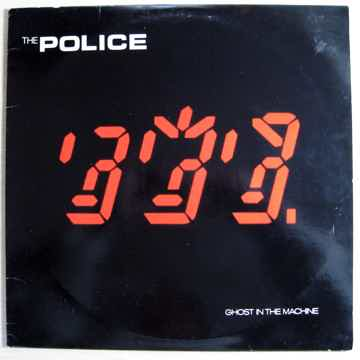 The Police - Ghost In The Machine - First Press STERLIN...