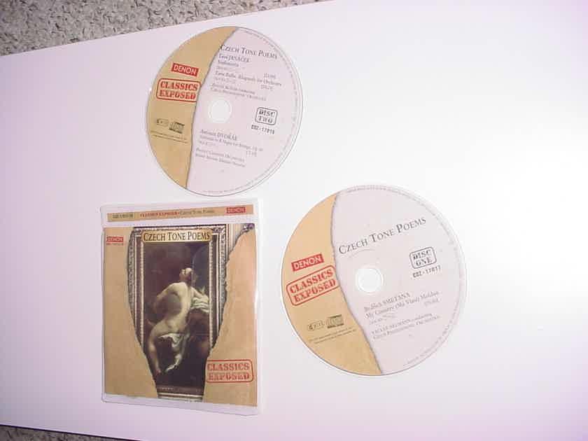 DENON Classics Exposed double cd set Czech Tone Poems COZ-17017-18
