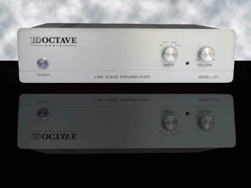 10 Octave LP-1R remote tube preamp