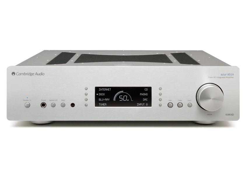 CAMBRIDGE AUDIO Azur 851A Flagship Integrated Amplifier: Manufacturer Refurbished – Full Warranty; 45% Off