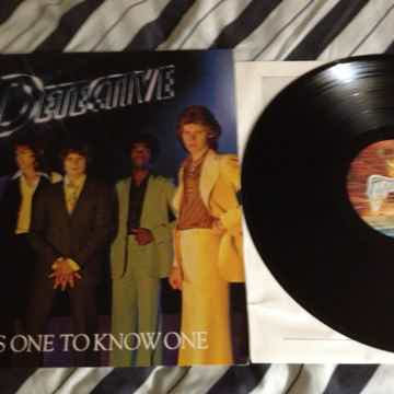 Detective - It Takes One To Know One Vinyl LP NM Swan S...