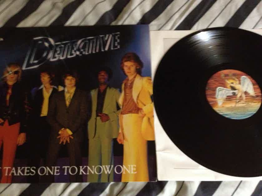 Detective - It Takes One To Know One Vinyl LP NM Swan Song Records