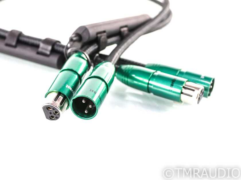 AudioQuest Columbia XLR Cables; 1m Pair Balanced Interconnects; 72v DBS (28510)