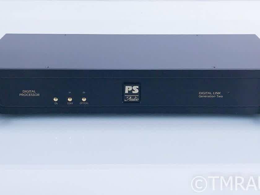 PS Audio Digital Link Generation II DAC Gen 2; D/A Converter (16748)