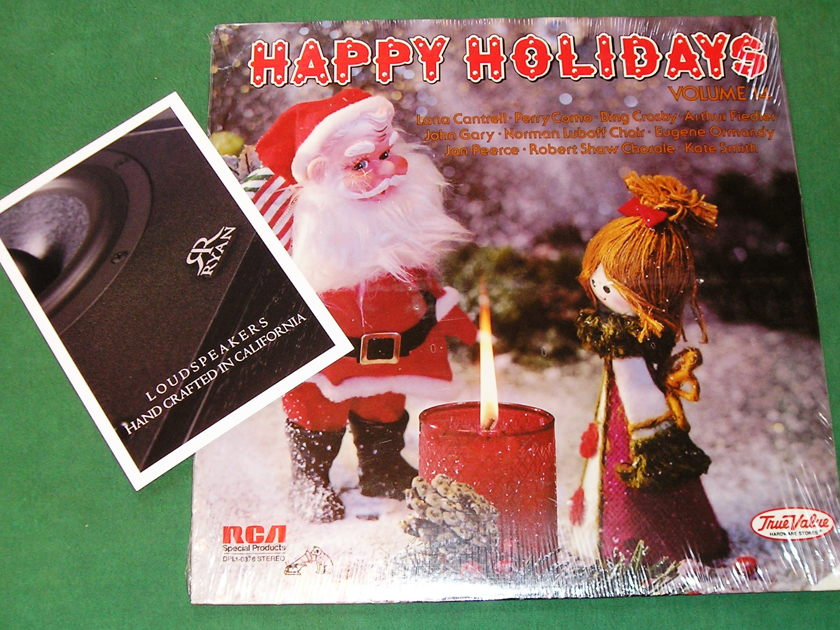 HAPPY HOLIDAYS #14 -  True Value Hardware Series - * 1979 RCA SPECIAL PRODUCTS * NEW/SEALED