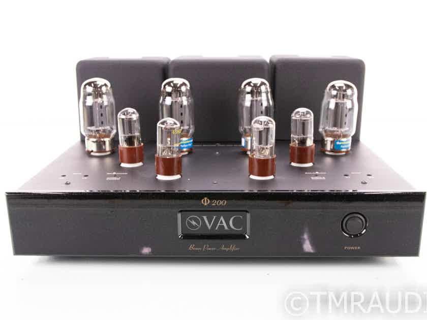 V.A.C. Renaissance Phi 200 Stereo Tube Power Amplifier (18955)