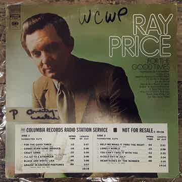 Ray Price - For The Good Times 1970 NM- Radio Station P...