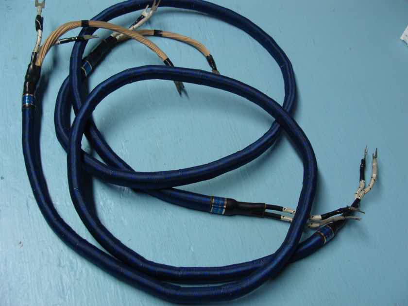 Yamamura Churchill Speaker Cable 5 ft. Pair. Truly Rare!