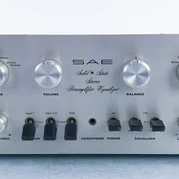 Mark One Vintage Stereo Preamplifier