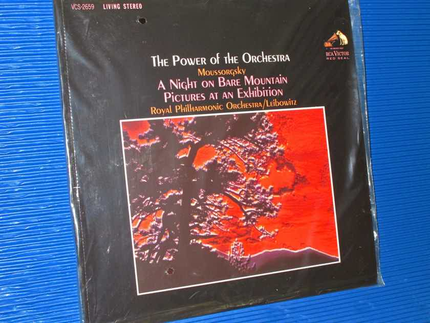"""""""THE POWER OF THE ORCHESTRA""""  - Moussorgsky / Leibowitz -  Analoque Productions 200 gr 2 X 45 RPM SEALED!"""
