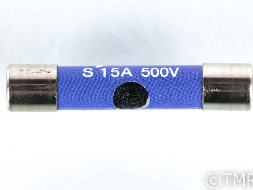 Synergistic Research Blue Fuse; 15A 500V 6x30mm (21488)