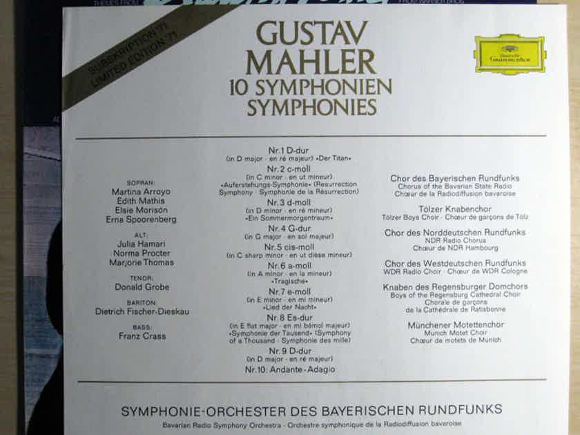 Gustav Mahler - Bavarian Radio Symphony Orchestra - Themes From Death In Venice - Germany Deutsche Grammophon 2538 124