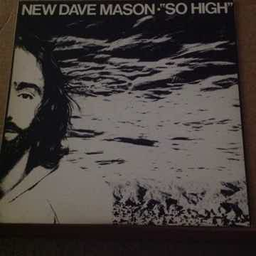 Dave Mason -  So High Columbia Records Promo 12 Inch Vi...