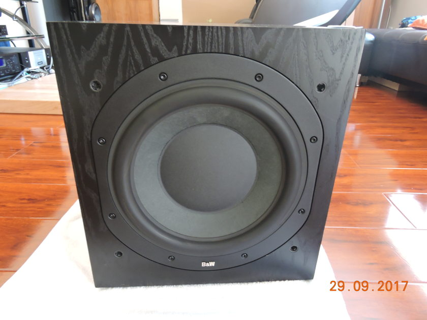 "B&W (Bowers & Wilkins) ASW-750 B&W Bowers & Wilkins ASW750 power subwoofer 1000w with 12""dr"