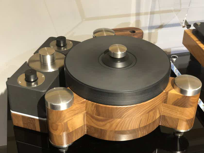 PBN Audio GrooveMaster  Walnut finish dual motor, No arm. Trade are welcome