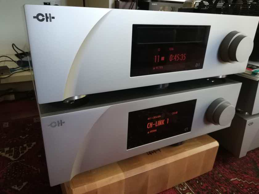 CH Precision D1 SACD/CDP and C1 DAC Controller - top of the line digital front end