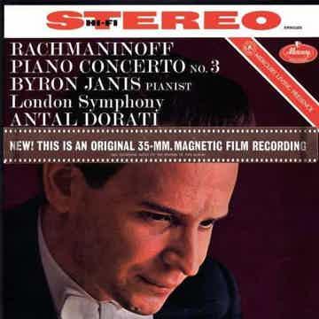Antal Dorti Rachmaninov: Piano Concerto No. 3/ Janis