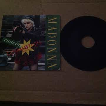 Madonna - Causing A  Commotion/Jimmy Jimmy  B Side Has ...