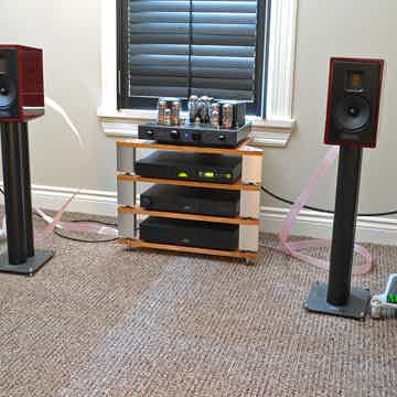 KUDOS X2 Floor Standers in Cherry SEE PHOTO