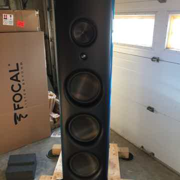 M Project speakers blue