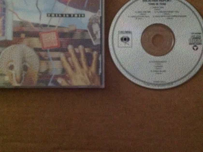 Weather Report - This Is This Columbia Records Not Remastered Compact Disc