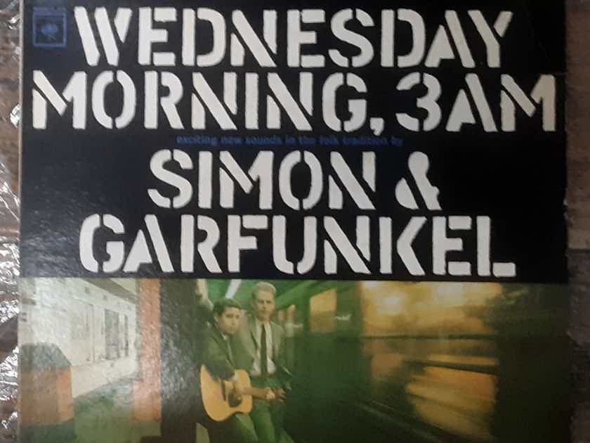 Simon & Garfunkel - Wednesday Morning, 3 A.M. NM- 1967 REPRESS Columbia CS 9049