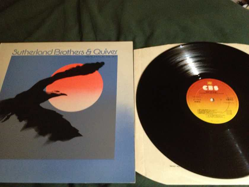 Sutherland Brothers & Quiver - Reach For The Sky LP NM CBS Records UK