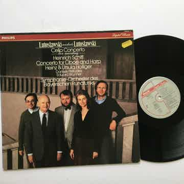 Lutoslawski conducts Lutoslawski Heinrich Schiff  Concerto for Oboe Cello concerto Lp record Philips 416 817-6