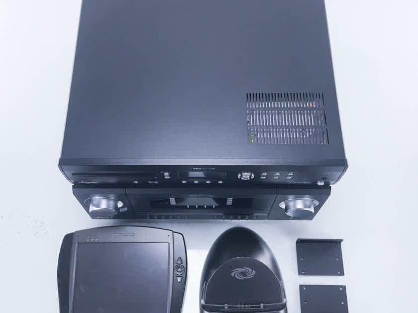 Crestron Adagio Entertainment System AES & AAS-4 Audio Server; LCD APAD Controller (11726)
