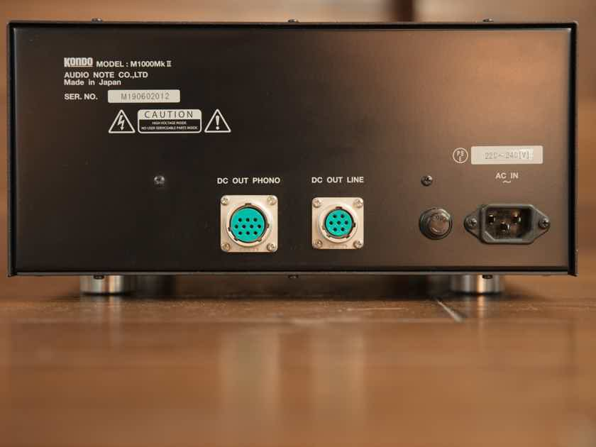 Kondo Audionote M1000 MkII w/phono Board
