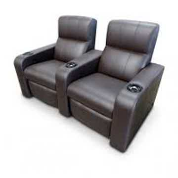 Fortress Matinee Home Theater Seating w/Crowson Tactile...