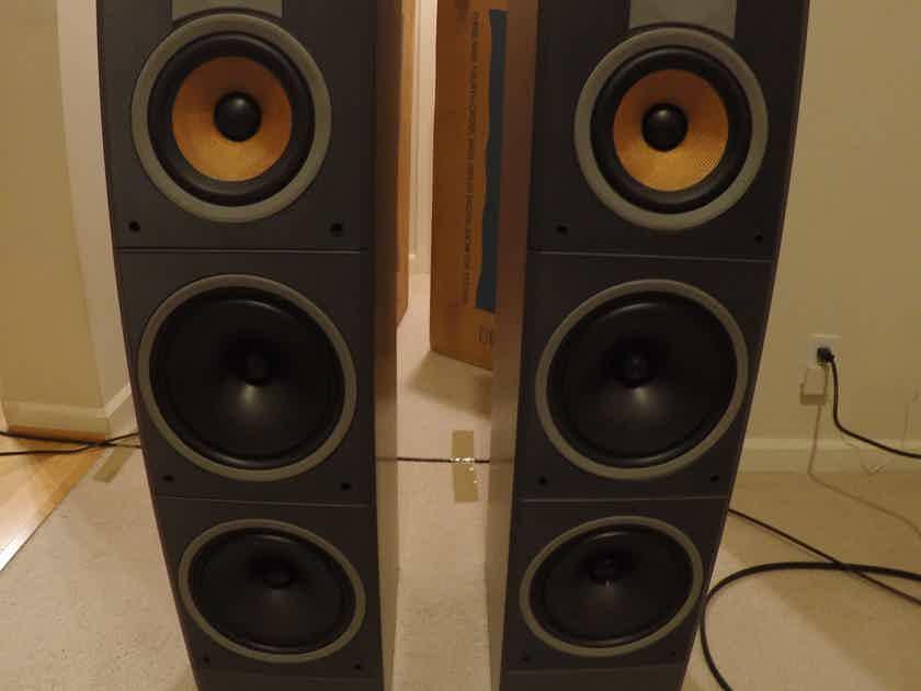Bowers and Wilkins B&W DM-640 floorstanding speakers | Full