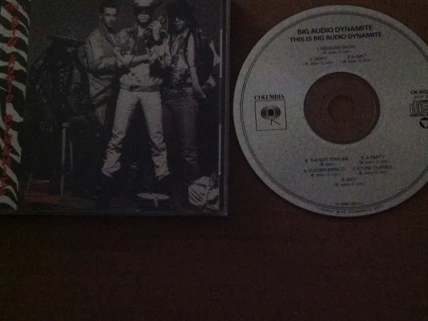 Big Audio Dynamite - This Is Big Audio Dynamite Columbia Records Not Remastered Compact Disc