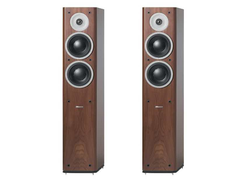 Dynaudio  Focus 400XD Wireless Speakers; Walnut w/ Connect (NEW) (10494)