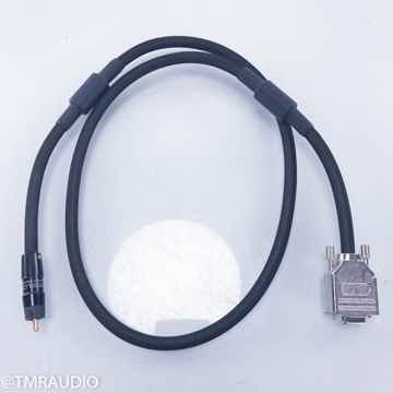 Digital Clock Cable; Single 1m Interconnect (VGA to S/PDIF)