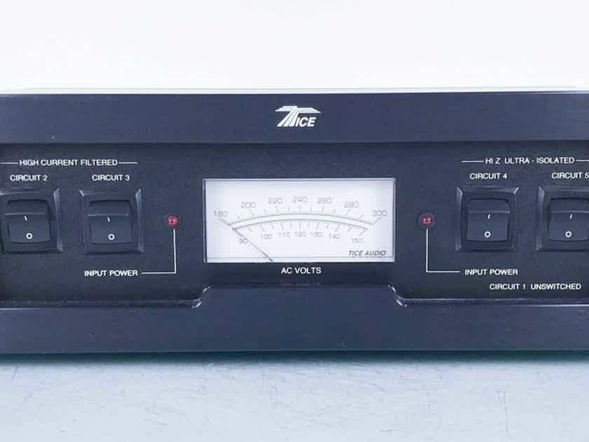 Tice Signature Series Power Block III Power Conditioner PB3; IIIB (15698)