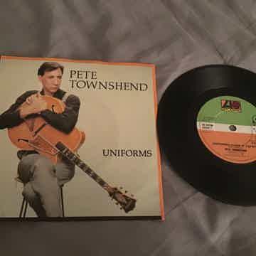 Pete Townshend  Uniforms/Dance It Away UK 45 With Pictu...