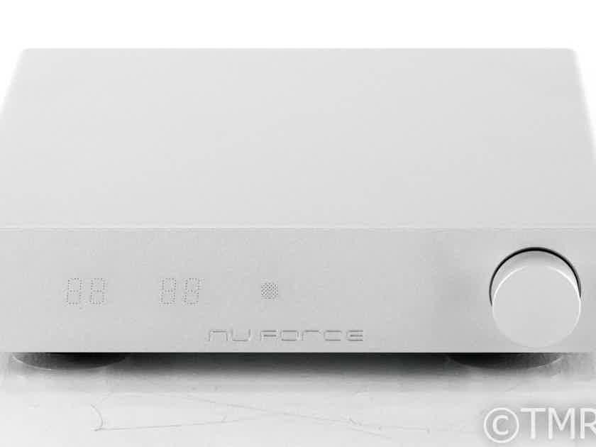 Nuforce DDA-120 Stereo Integrated Amplifier; DDA120; Bluetooth; Remote; Silver (22651)