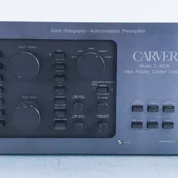 C-4000 Vintage Sonic Holography Preamplifier