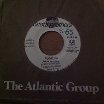 Frank Stallone - Case Of You Scotti Brothers Records Pr...