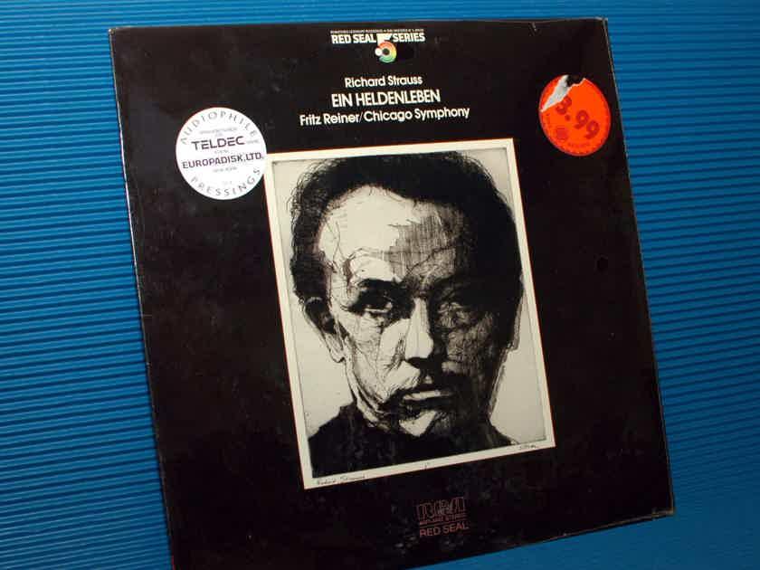 """R. STRAUSS / Reiner  - """"Ein Heldenleben"""" - RCA .5 Audiophile Series 1981 SEALED!"""